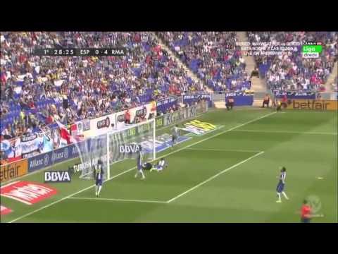 Espanyol 0-6 Real Madrid - All Goals & Highlights Ronaldo 5 goals