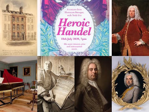 Heroic Handel: A Virtual Concert