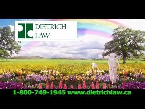 Injured, Disabled - Dietrich Law Can Help