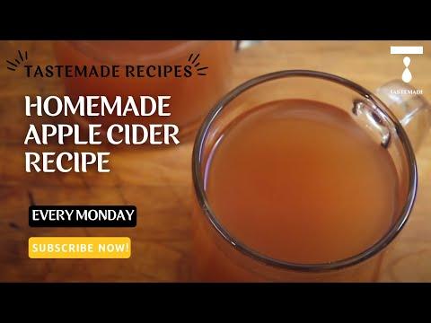 Domácí jablečný cider