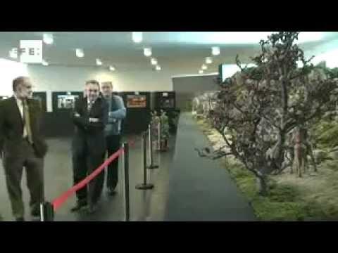 Exposición de Baluarte, visista del Presidente de Gobierno Miguel Sanz