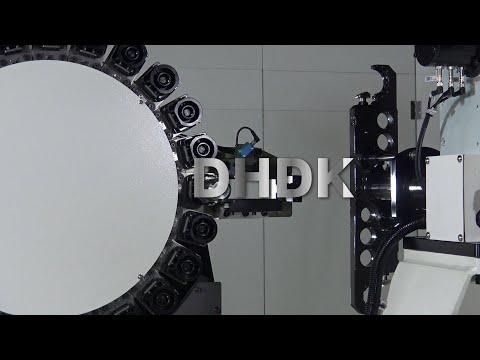 DHDK Separated Horizontal Drum Type Tool Magazine