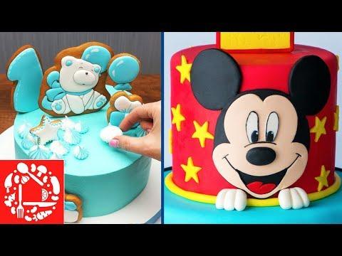 Как красиво украсить торт для мальчика