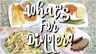 WHAT'S FOR DINNER | EASY DINNER RECIPES | AFFORDABLE MEALS | WORKING MOM WHAT'S FOR DINNER