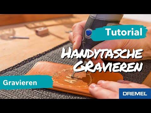Gestalte deine persönliche Handyhülle aus Leder - Gravur DIY