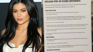 Kylie Jenners CRAZY STRICT Rules For Her Pop Up Shop