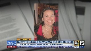 Kingman woman fired from city job due to husband's motorcycle club