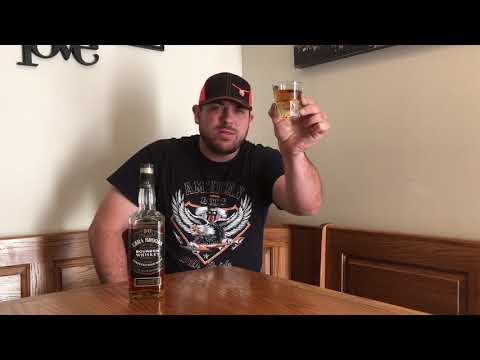 Workin' Man's Whiskey Review #105: Ezra Brooks Kentucky Straight Bourbon Whiskey