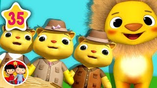 Tres gatitos | Nanas para bebés | Little Baby Bum - Canciones Infantiles
