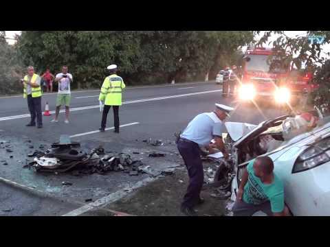 Accident rutier grav in sudul litoralului. Cinci persoane au decedat.