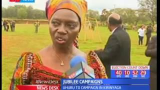 I do not expect the president to undermine my candidature in Kirinyaga, Martha Karua