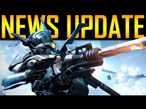 Destiny - NEWS UPDATE! NEW RAID LOOT!