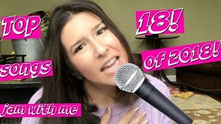 Jam out with me!   Top 18 songs of 2018!  My 2018 playlist!   KATIEXOBEAUTY