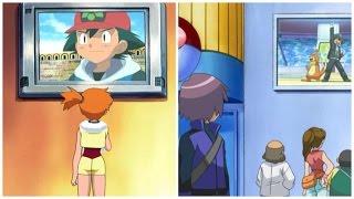 Misty  - (Pokémon) - Misty watches Ash on TV (plus others)