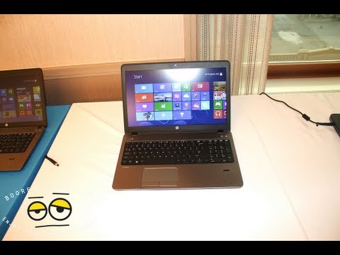 HP ProBook 400 Notebook Series Hands-on