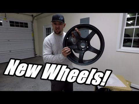 New Wheels From Rays Engineering! *MR2 Looks Fresh*