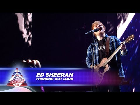Ed Sheeran 'thinking Out Loud Live At Capitals Jingle Bell Ball 2017