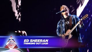 Ed Sheeran   'Thinking Out Loud'   (Live At Capital's Jingle Bell Ball 2017)