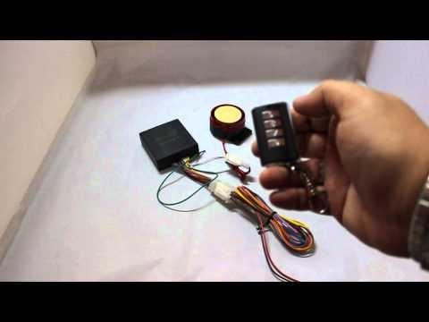 Sistema Allarme Moto Scooter Gold Code Con Sensore Di Movimento