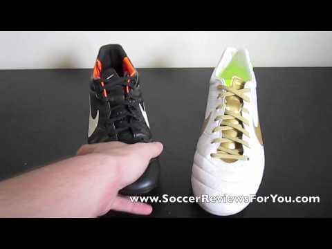 Nike Tiempo Legend IV VS Legend IV Elite - Comparison