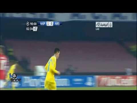 Match Napoli VS Arsenal 2 0 12 12 2013 Goals & Highlights  HD
