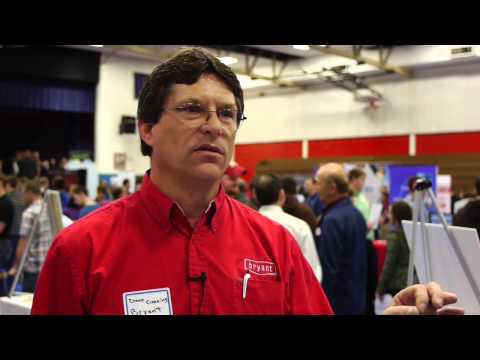 Employer, Alumnus talks HVACR at SCC: Video