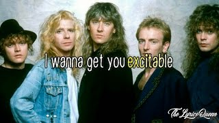 Def Leppard - Excitable [Lyrics] HD