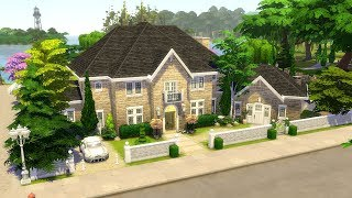 The Sims 4    Speed Build    Willowbank Way