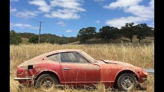 Datsun 240z restoration time lapse.