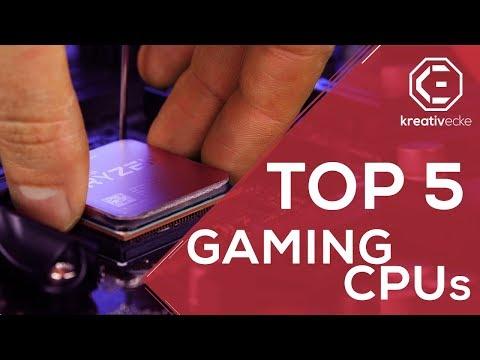 Top 5 BESTE GAMING PROZESSOREN 2018 | Von unter 100 bis über 300 Euro AMD UND INTEL
