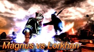 Skyrim Battles - Magnus vs Lorkhan [Legendary Settings]