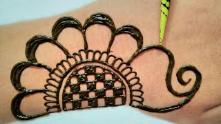 Simple Back Hand Mehndi Designs|simple Beautiful Mehndi Design|mehendi|MehndiDesigns 2020