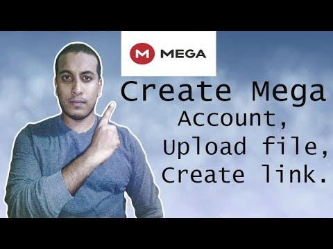 How To Upload to MEGA and get the Download Link - смотреть