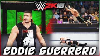 WWE 2K16 Eddie Guerrero CAW Formula + Entrance & Finisher