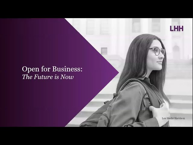 Open for Business: The Future is Now - A conversation with Alan Wild