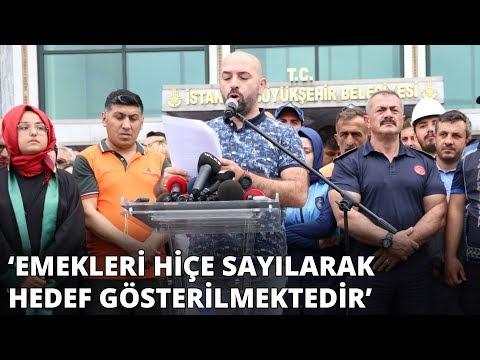 """İmamoğlu'ndan aleyhine bildiri okuyan İBB çalışanlarıyla ilgili açıklama: """"Hiç kimseye kinim yok"""""""