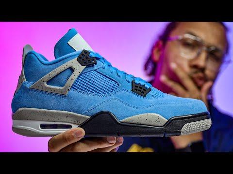 This Sneaker Worth Buying? Air Jordan 4 University Blue UNC