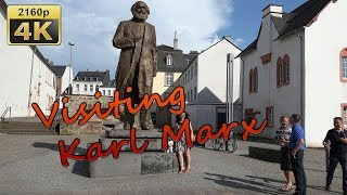 Visiting Karl Marx in Trier - Germany 4K Travel Channel