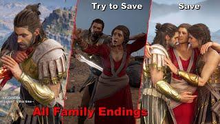 Assassin's Creed Odyssey - Save Vs Kill Deimos (All Endings)