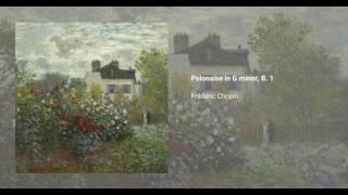 Polonaise in G minor, B. 1