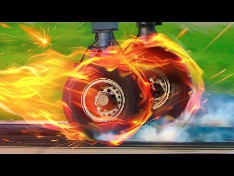 Cómo Unos Neumáticos Pequeños Pueden Soportar El Aterrizaje