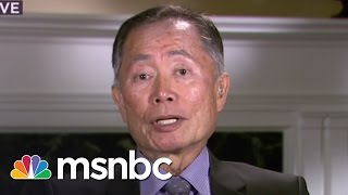 George Takei: Indiana Law Effects All Americans | msnbc thumbnail