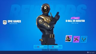 HOW TO UNLOCK NEW 8-BALL VS SCRATCH GOLD STYLE! NEW FORTNITE GOLD 8-BALL STYLE! CHAPTER 2 OVERTIME