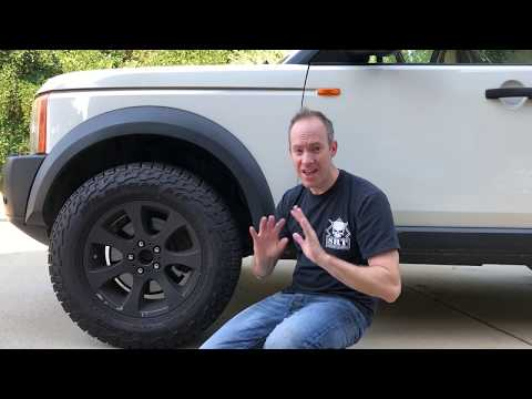 How to make non - Land Rover rims FIT.  Bolting BMW to LR3