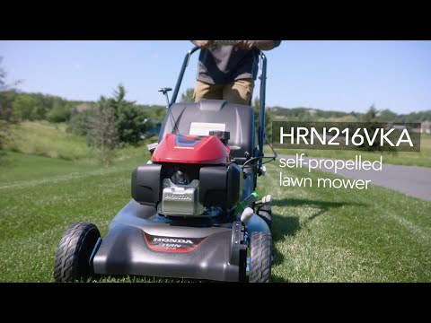 Honda Power Equipment HRN216VKA GCV170 Self Propelled in Del City, Oklahoma - Video 1