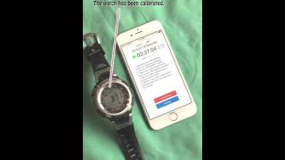 Clock Wave, calibrate your radio controlled watch/clock anywhere and anytime