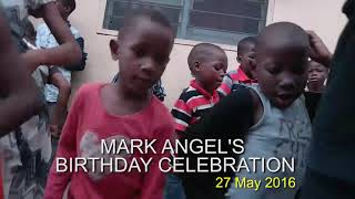MARK ANGEL'S BIRTHDAY CELEBRATION WITH KIDS