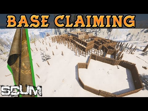 BASE CLAIMING and MELEE IMPROVEMENTS! - SCUM Patch 0.2.44