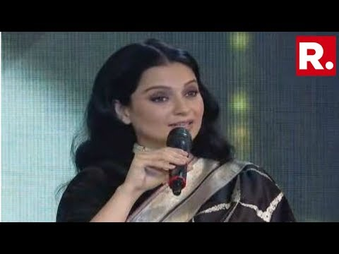'My Anger Is Very Constructive': Kangana Ranaut At Republic Summit 2019