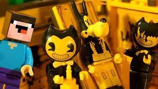 БЕНДИ и День Рождения Лего НУБика Майнкрафт ФНАФ Мультики - LEGO Minecraft FNAF Мультфильмы